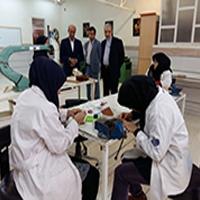 بازدید معاون سازمان آموزش فنی و حرفه ای کشور از مراکز آموزشی اهواز