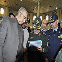 بازديد معاون پژوهش، برنامه ریزی و سنجش مهارت سازمان از محل برگزاري دومين آزمون سنجش مهارت سربازان وظيفه در استان تهران